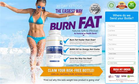 Keto Genix Burn Diet Pills Reviews - Side Effects, Price