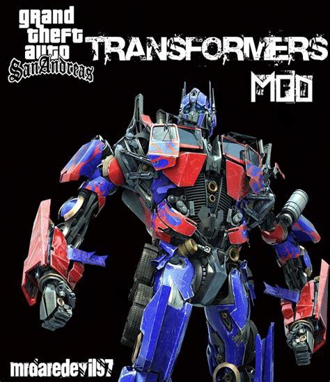 download game transformers mod gta sa transformers mods file grand theft auto san