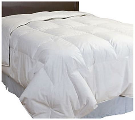 northern nights down comforter northern nights year round 550fp down comforter qvc com