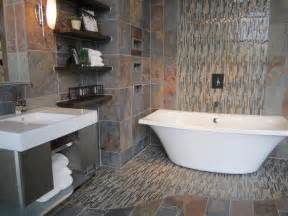 slate tile bathroom ideas bathroom
