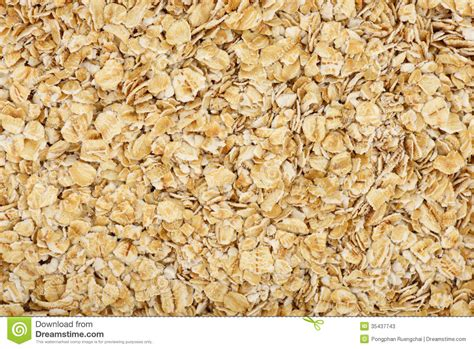 whole grain rolled oats oat background stock photos image 35437743