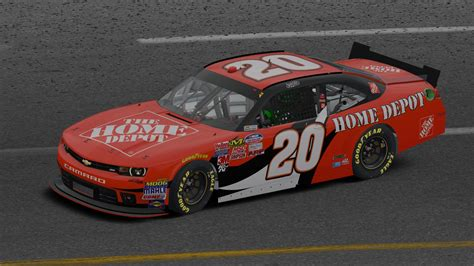 Home Depot Nascar Driver by Tony Stewart Home Depot Camaro By Werth Trading
