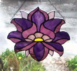 Chakra Lotus Flower Chakra Stained Glass Lotus Flower