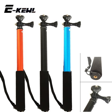 Monopod Gopro Waterproof extendable waterproof monopod pole handheld gopro accessories monopod tripod for go pro 4 3