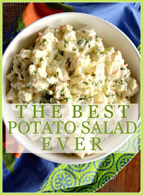 best potato salad the best potato salad no kidding stonegable