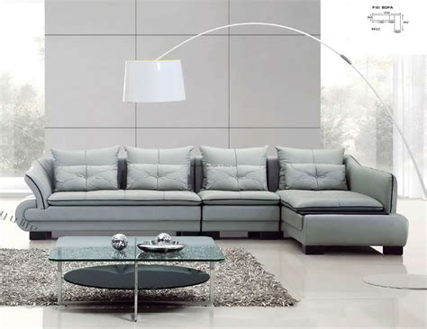 modern sectional leather sofa 25 sofa set designs for living room furniture ideas