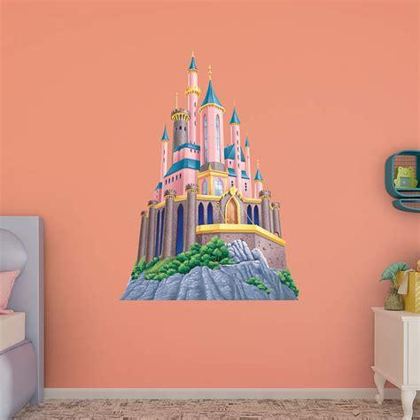 disney castle wall sticker disney princess castle wall decal shop fathead 174 for