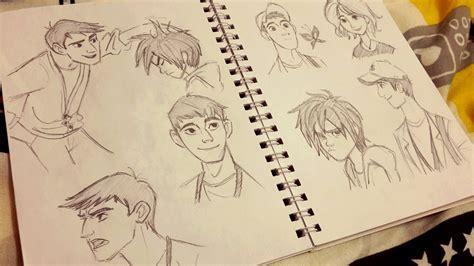 Big 6 Sketches big 6 sketches by chitandakillumeen on deviantart