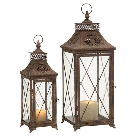 That Warm Weather Set Candles Out Later by Best 25 Large Candle Lanterns Ideas On House