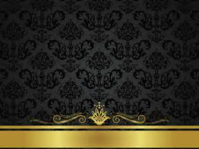 Black and gold vintage wallpaper wallpaperhdc com