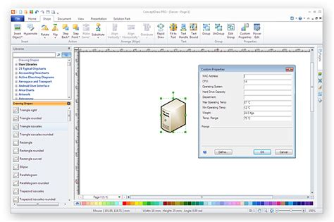 visio 2013 to 2010 converter how to import custom data from visio shape to conceptdraw