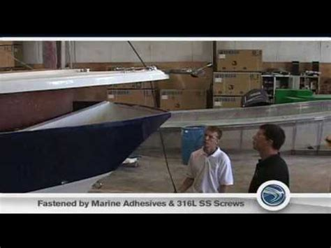 edgewater boats construction edgewater boats technology construction youtube