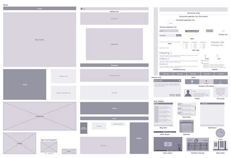 site plans solution conceptdraw com cs odessa announces website wireframe solution for