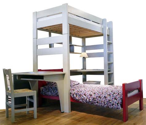 un lit mezzanine pourquoi pas couleurs bois le