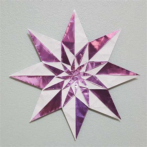 Origami Fractal - origami harlequin fractal evan zodl folded by joe