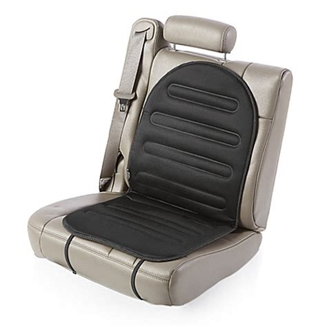 Bed Warmer Pad Heated Car Seat Cushion With Temperature Control In Black