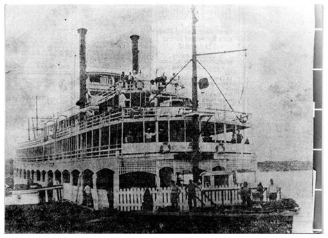 steamboat history wild and wide open the showboat harry lee was once one