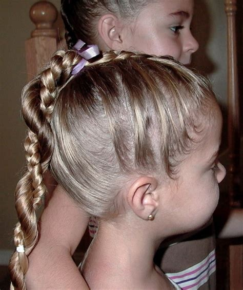 easy girls hairdo ideas for little girls hairstyles glamy hair