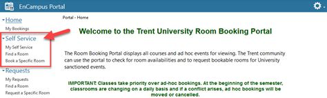 Library Room Booking by Book A Library Study Room Trent Library