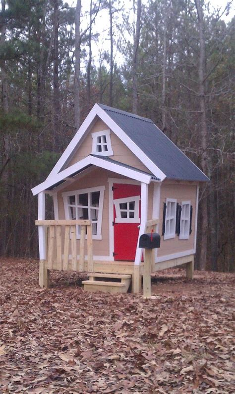 outdoor playhouse intrigue pinterest