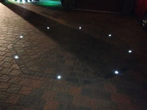 lights for driveway marshalls block paving driveway knowsley led lighting