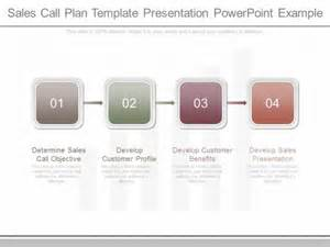 sales plan template powerpoint sales call plan template presentation powerpoint exle