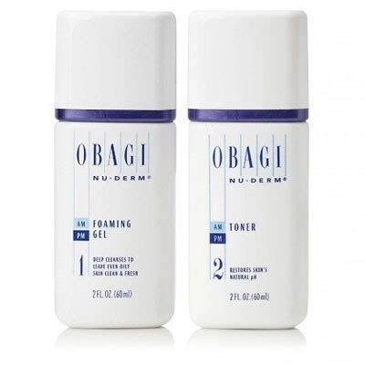 Toner Obagi obagi travel size nu derm foaming gel toner value pack