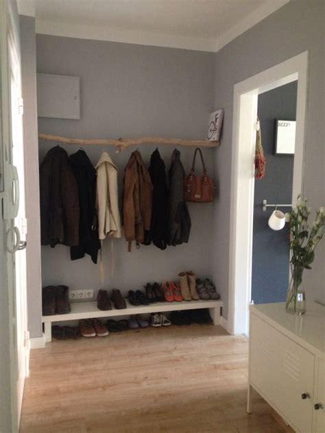 diy garderobe diy garderobe aus einem ast interior