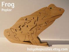 3d Puzzle Frog By Bimbozone 1000 images about animal puzzles on puzzles