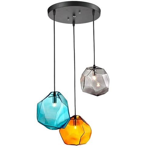 colorful pendant lights lighting ceiling lights pendant lights modern