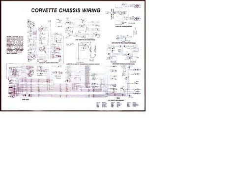 1975 corvette diagram electrical wiring davies corvette