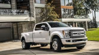 Ford F Series Duty 2018 Ford F Series Duty Limited Trim Price Tag Nears