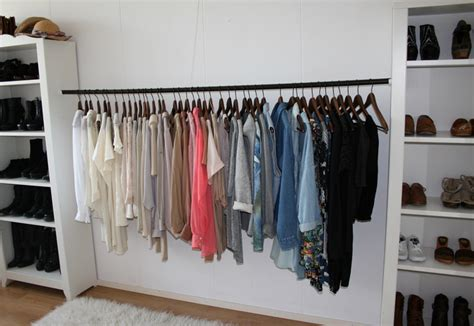 Diy Armoire Closet by Diy Wardrobe Rehab Project Step 4 Organising Your Wardrobe A Pair A Spare