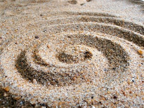 sand painting free free photo sand sand spiral free image on