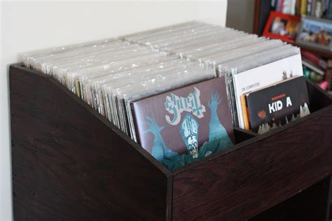 Records Shelf i built a vinyl record shelf johnvantine