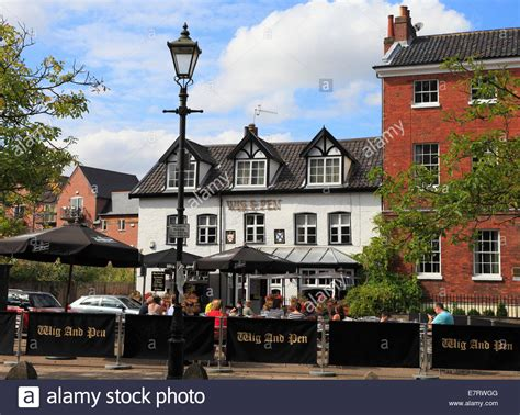 the public house norfolk the wig and pen public house in norwich norfolk england stock photo royalty free