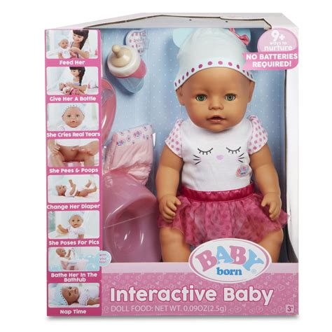 baby dolls that can go in the bathtub baby born interactive baby doll ebay