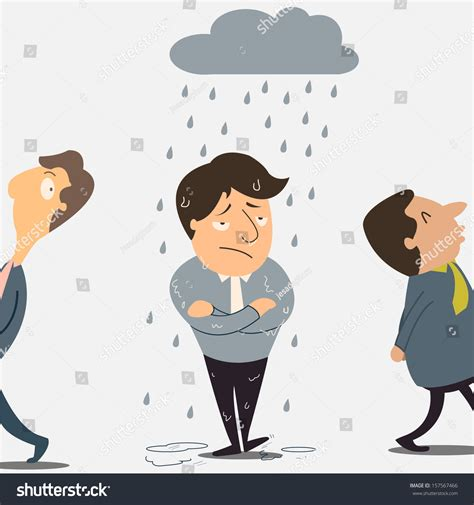 bad luck why bad luck happening only on stock vector 157567466