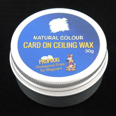 Ceiling Wax by Card On Ceiling Wax By Propdog 30g