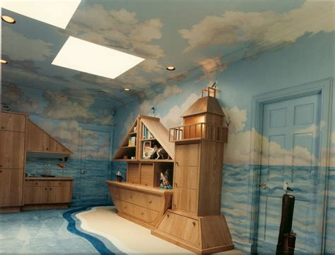 Pottery Barn Wall Murals 20 great kid s playroom ideas decoholic