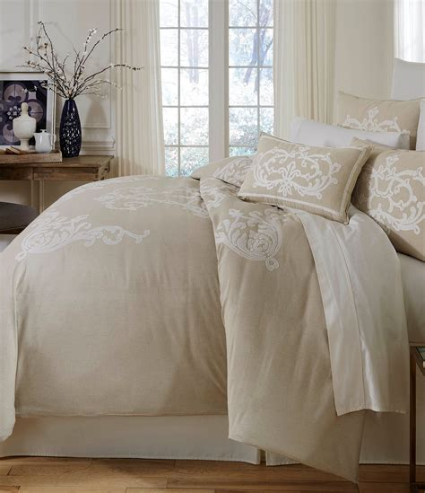 southern living bedding southern living granville embroidered m 233 lange chambray