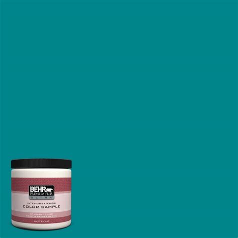teal paint colors home depot behr premium plus ultra 8 oz 500b 7 tucson teal interior