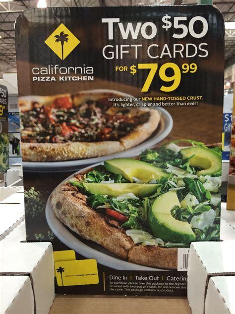 california pizza kitchen gift cards at costco 2 x 50 cards for 79 99 full costco - Cpk Gift Card Costco