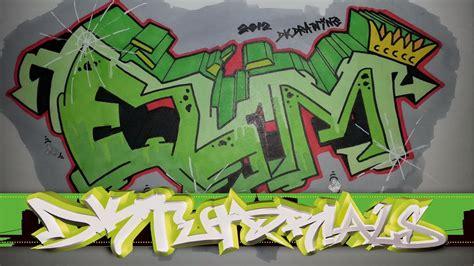 graffiti tutorial  beginner step  step drawing elm