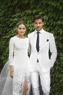 Olivia and johannes wedding day olivia palermo