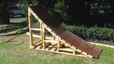 wood diy wooden wheelchair ramp   build  amazing