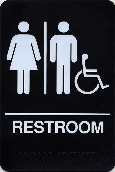 bathroom signages styles cool and funny restroom signs design