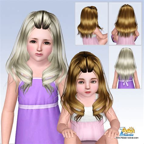 sims 3 custom content fringe hairstyle the sims 3 hairstyle with twisted fringe id 593 by peggy zone