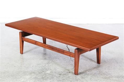 famous coffee table jens risom floating top coffee table vintage supply store
