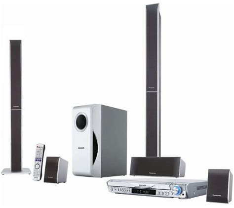 panasonic scht740 1000w 5 disc dvd cd home theater system